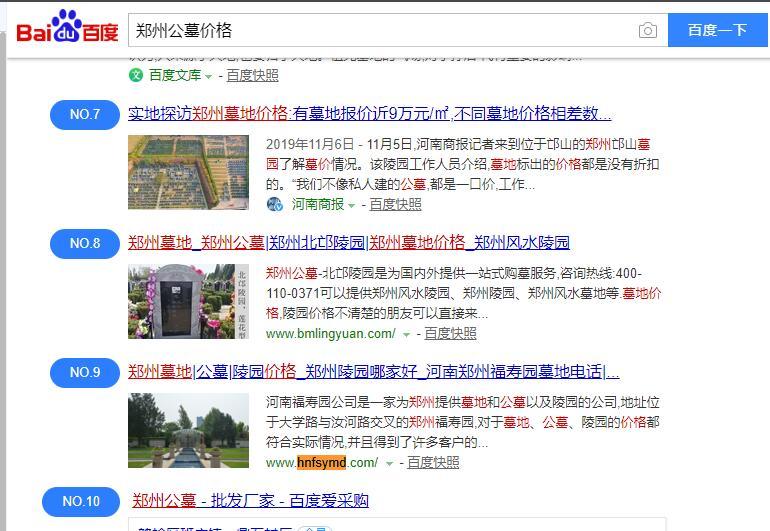 河南网站SEO伟德国际1946体育-郑州公墓价格-百度首页